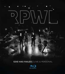 RPWL: God Has Failed - Live & Personal, Blu-ray Disc