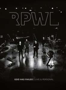 RPWL: God Has Failed - Live & Personal, DVD