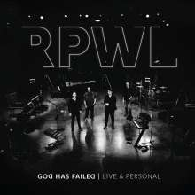 RPWL: God Has Failed - Live & Personal (180g) (Limited Edition) (Blue Vinyl), 2 LPs