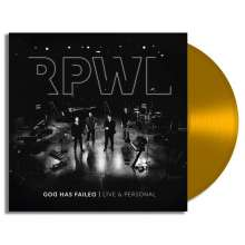 RPWL: God Has Failed - Live & Personal (180g) (Limited Edition) (Gold Vinyl) (signiert, exklusiv für jpc!), 2 LPs