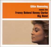Gitte Haenning: Meets The Francy Boland Kenny Clarke Big Band, CD