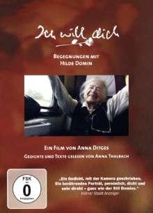 Ich will dich - Begegnungen mit Hilde Domin, DVD
