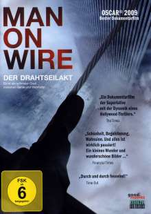 Man On Wire - Der Drahtseilakt (OmU), DVD