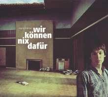 Moritz Krämer: Wir können nix dafür (Limited-Edition), 1 LP und 1 CD