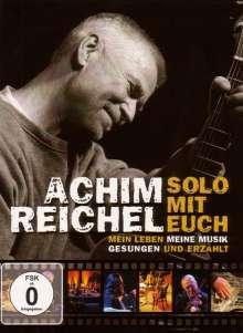 Achim Reichel: Solo mit Euch - Mein Leben, meine Musik,gesungen und erzählt, DVD