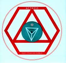 """Actress (Darren J. Cunningham): Paint, Straw And Bubbles (Ep), Single 12"""""""