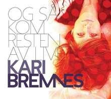 Kari Bremnes (geb. 1956): Og Så Kom Resten Av Livet (180g), LP