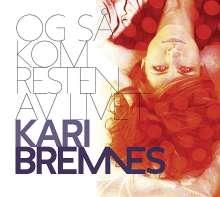 Kari Bremnes (geb. 1956): Og Så Kom Resten Av Livet, CD