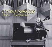 Peter Michael Hamel (geb. 1947): Coincidence - Musik für Sackpfeife und Orgel, CD