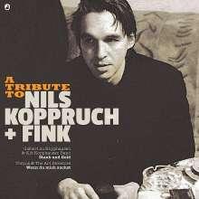 """Gisbert zu Knyphausen & Kid Kopphausen Band/Torpus & The Art Directors: A Tribute To Nils Koppruch + Fink: Staub und Gold / Wenn du mich suchst (Limited Edition) (7"""" + CD), 2 Single 7""""s"""