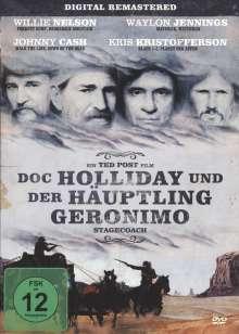 Doc Holliday und der Häuptling Geronimo, DVD
