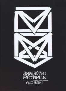 Zugezogen Maskulin: Alles brennt (Limited Boxset) (CD + Shirt Gr.L), CD