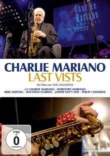 Charlie Mariano - Last Vists, DVD