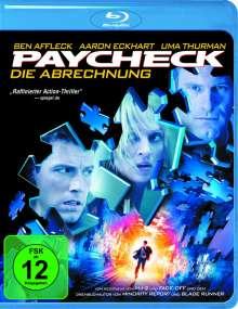 Paycheck - Die Abrechnung (Blu-ray), Blu-ray Disc