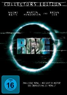 Ring (2002) (Special Edition), DVD