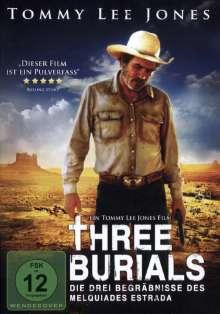 Three Burials, DVD