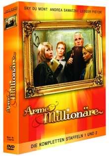 Arme Millionäre Staffel 1 & 2, 3 DVDs