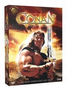Conan der Abenteurer Box 1, 4 DVDs