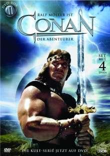 Conan der Abenteurer Box 2, 4 DVDs