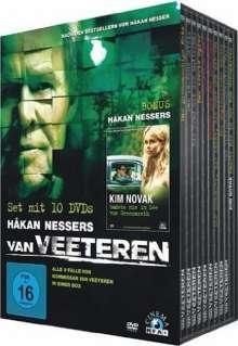 Hakan Nessers Van Veeteren: Die große Box, 10 DVDs