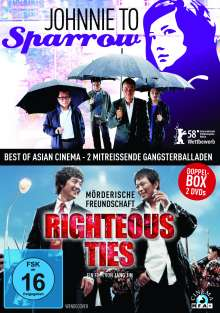 Sparrow / Righteous Ties, 2 DVDs
