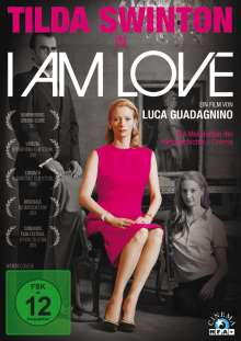 I Am Love, DVD