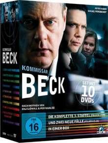 Kommissar Beck Staffel 3 (Gesamtausgabe plus 2 neue Fälle), 10 DVDs