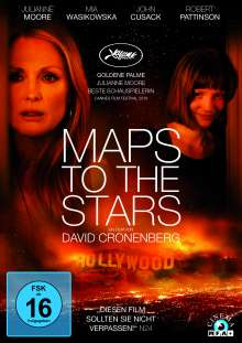 Maps to the Stars, DVD