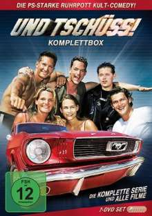 Und Tschüss! (Komplettbox), 7 DVDs