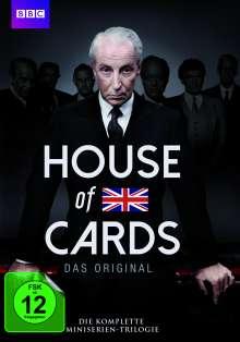 House of Cards (1990) (Komplette Mini-Serien Trilogie), 6 DVDs