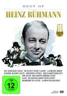 Best Of Heinz Rühmann, 10 DVDs