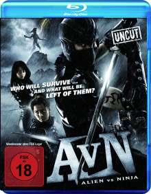 Alien vs. Ninja (Blu-ray), Blu-ray Disc