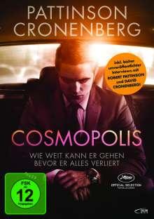Cosmopolis (Blu-ray), Blu-ray Disc