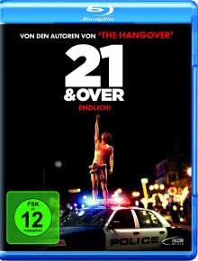 21 & Over (Blu-ray), Blu-ray Disc