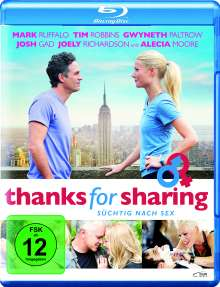 Thanks for Sharing (Blu-ray), Blu-ray Disc