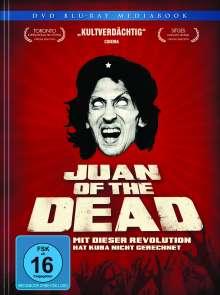 Juan Of The Dead (Blu-ray & DVD im Mediabook), 1 Blu-ray Disc und 1 DVD