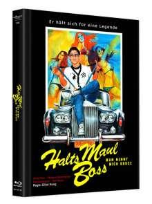 Halts Maul Boss - Man nennt mich Bruce (Blu-ray & DVD im Mediabook), 1 Blu-ray Disc und 1 DVD