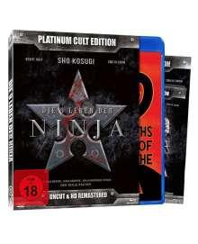 Die 9 Leben der Ninja (Blu-ray & DVD), 1 Blu-ray Disc und 1 DVD