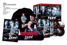 Leon (Büsten Edition) (Blu-ray & DVD im Mediabook), 2 Blu-ray Discs, 3 DVDs und 1 CD