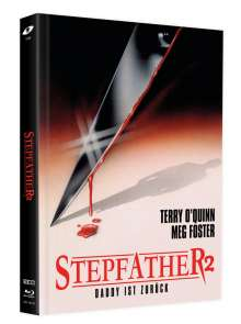 Stepfather 2 (Blu-ray & DVD im Mediabook), 1 Blu-ray Disc und 2 DVDs