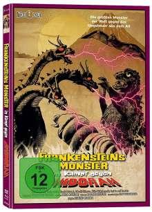 Frankensteins Monster im Kampf gegen Ghidorah (Blu-ray & DVD im Mediabook), 1 Blu-ray Disc und 1 DVD