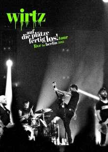 Wirtz: Auf die Plätze fertig los! Tour – Live in Berlin, 1 DVD und 2 CDs