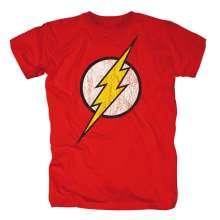 Justice League: Flash Logo (Gr.XL), T-Shirt