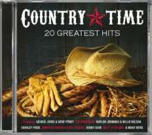 Country Time: 20 Greatest Hits, CD