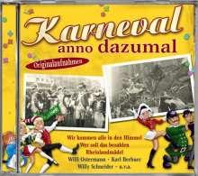 Karneval anno dazumal, CD