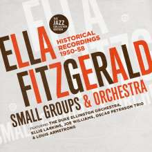 Ella Fitzgerald (1917-1996): Historical Recordings 1950 - 1958 (The Jazz Collector Edition), 2 CDs