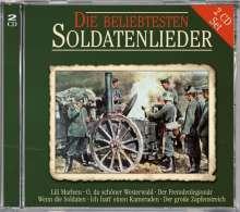 Die beliebtesten Soldatenlieder, 2 CDs