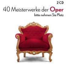 40 Meisterwerke der Oper, 2 CDs