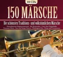 150 Märsche, 10 CDs