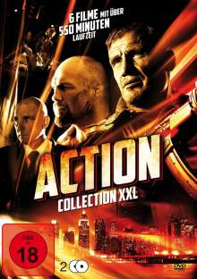 Action Collection XXL (6 Filme auf 2 DVDs), 2 DVDs